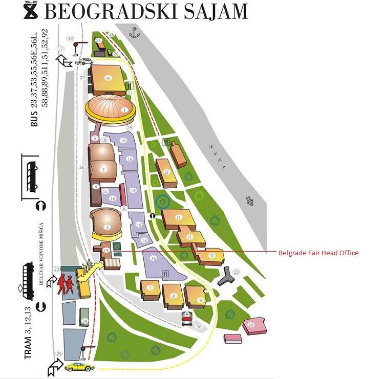 mapa beograda sajam Investiciona konferencija o industriji nameštaja u Srbiji, 08.11.2016. mapa beograda sajam