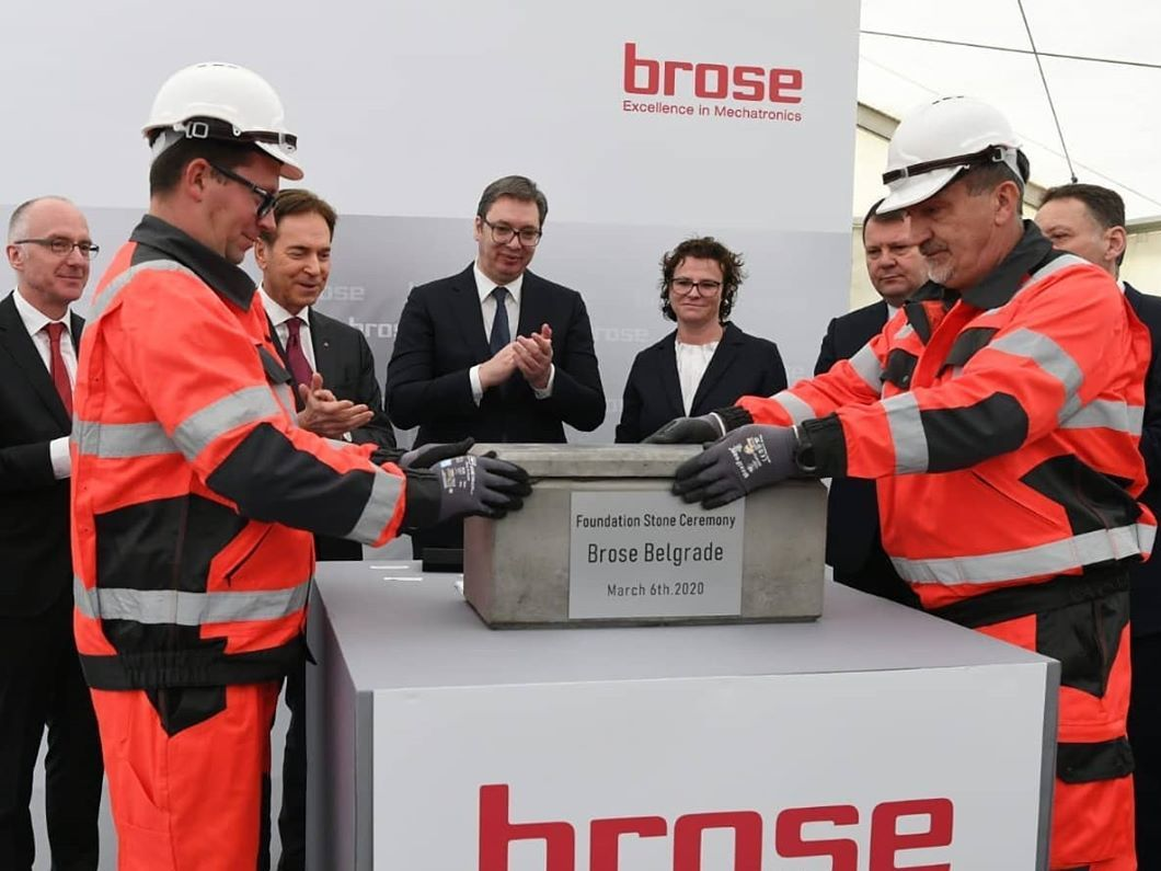 Brose Starts Building Plant And R D Center In Serbia Ras
